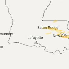 Hail Map for lafayette-la 2017-05-12