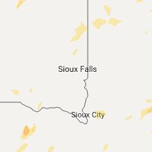 Hail Map for sioux-falls-sd 2017-05-15