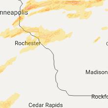 Hail Map for la-crosse-wi 2017-05-16