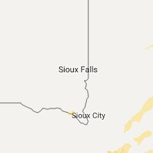 Hail Map for sioux-falls-sd 2017-05-16