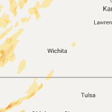 Hail Map for wichita-ks 2017-05-16