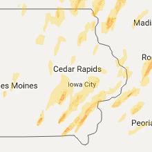 Hail Map for cedar-rapids-ia 2017-05-17