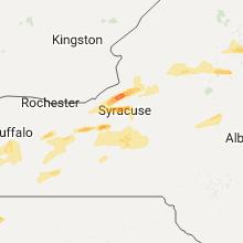 Hail Map for syracuse-ny 2017-05-18