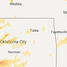 Hail Map for tulsa-ok 2017-05-18
