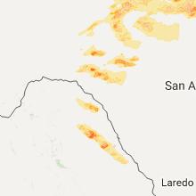 Hail Map for del-rio-tx 2017-05-19