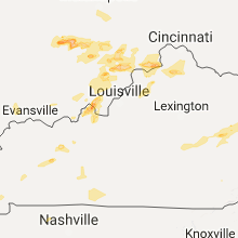 Regional Hail Map for Louisville, KY - Friday, May 19, 2017