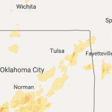 Hail Map for tulsa-ok 2017-05-19