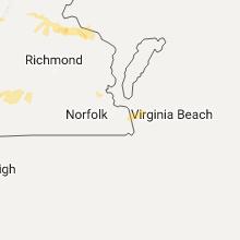 Hail Map for virginia-beach-va 2017-05-19