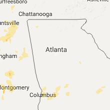 Hail Map for atlanta-ga 2017-05-20