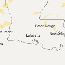 Hail Map for lafayette-la 2017-05-20