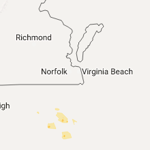 Hail Map for virginia-beach-va 2017-05-20