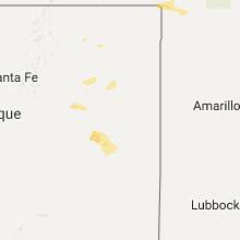Hail Map for tucumcari-nm 2017-05-21