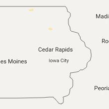 Hail Map for cedar-rapids-ia 2017-05-22
