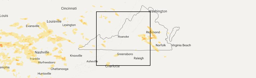 Interactive Hail Maps Hail Map For Burnsville Wv