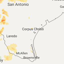 Regional Hail Map for Corpus Christi, TX - Sunday, May 28, 2017