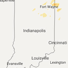 Regional Hail Map for Indianapolis, IN - Sunday, May 28, 2017