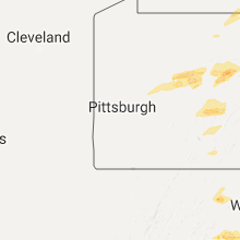 Regional Hail Map for Pittsburgh, PA - Tuesday, May 30, 2017