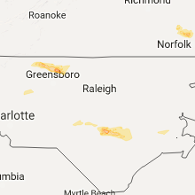 Hail Map for raleigh-nc 2017-05-31