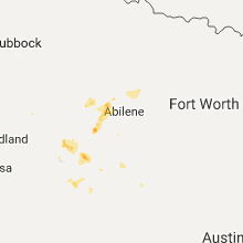 Hail Map for abilene-tx 2017-06-01