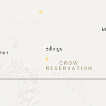 Regional Hail Map for Billings, MT - Thursday, June 1, 2017