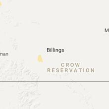 Regional Hail Map for Billings, MT - Sunday, June 4, 2017
