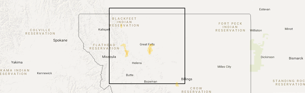 Interactive Hail Maps Hail Map for Great Falls MT