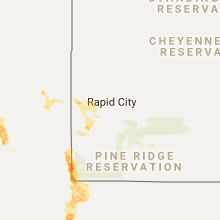 Hail Map for rapid-city-sd 2017-06-07