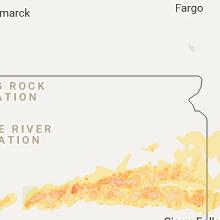 Hail Map for aberdeen-sd 2017-06-10