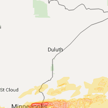Hail Map for duluth-mn 2017-06-11