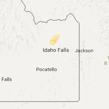 Hail Map for idaho-falls-id 2017-06-11