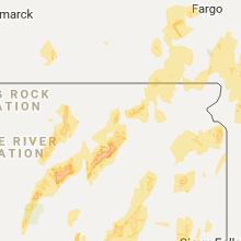 Hail Map for aberdeen-sd 2017-06-13