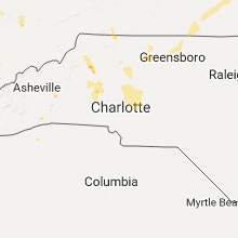 Hail Map for charlotte-nc 2017-06-13