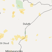 Hail Map for duluth-mn 2017-06-13