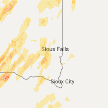 Regional Hail Map for Sioux Falls, SD - Tuesday, June 13, 2017