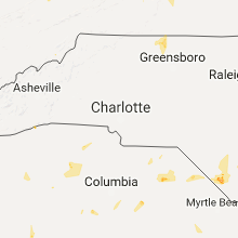 Hail Map for charlotte-nc 2017-06-15