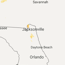 Hail Map for jacksonville-fl 2017-06-15