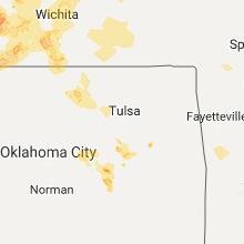 Hail Map for tulsa-ok 2017-06-15