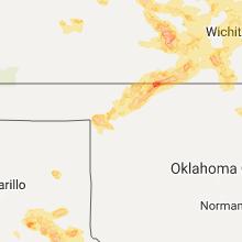 Hail Map for woodward-ok 2017-06-15