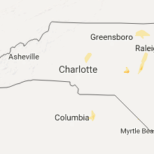 Hail Map for charlotte-nc 2017-06-16