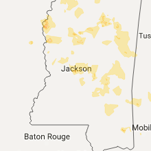 Hail Map for jackson-ms 2017-06-16