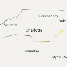 Hail Map for charlotte-nc 2017-06-19