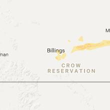 Regional Hail Map for Billings, MT - Tuesday, June 20, 2017
