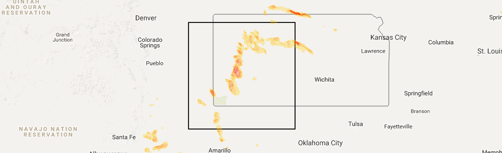 Interactive Hail Maps Hail Map For Lakin Ks