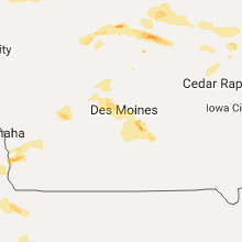 Hail Map for des-moines-ia 2017-06-22