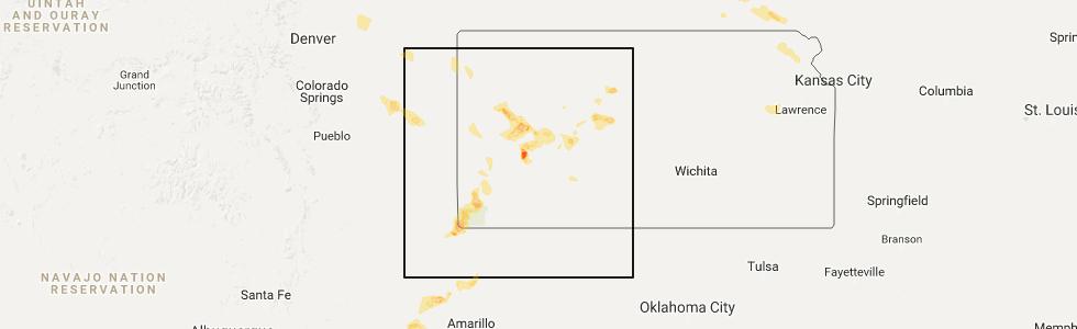 Interactive Hail Maps Hail Map For Tribune Ks