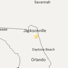 Hail Map for jacksonville-fl 2017-06-26