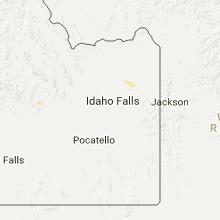 Hail Map for idaho-falls-id 2017-06-27