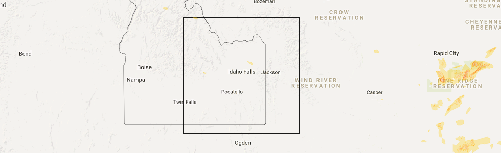 Interactive Hail Maps Hail Map for Rexburg ID