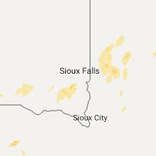 Hail Map for sioux-falls-sd 2017-06-27