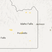 Hail Map for idaho-falls-id 2017-06-28